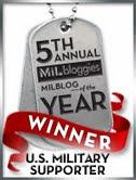 2011 Milblog Winner