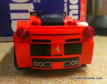 LEGO vehicles Ferrari set 75899 LaFerrari model car back rear end