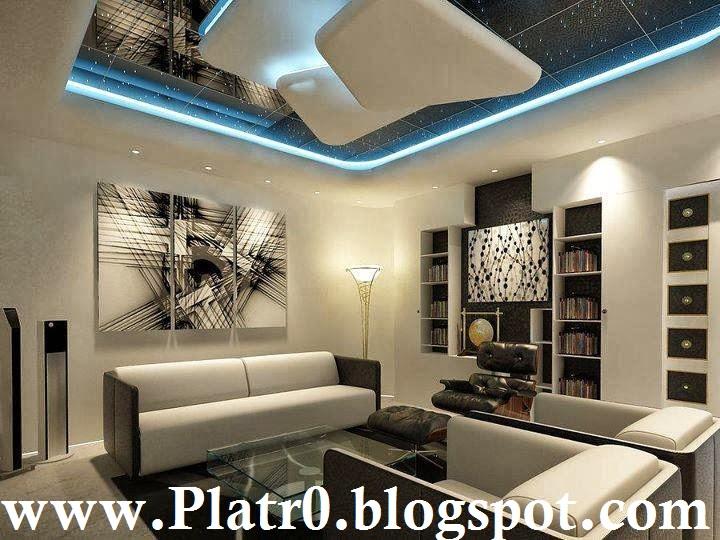 d coration salon avec ba13. Black Bedroom Furniture Sets. Home Design Ideas