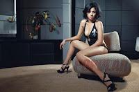 Foto Angie Nathanael di Majalah Popular