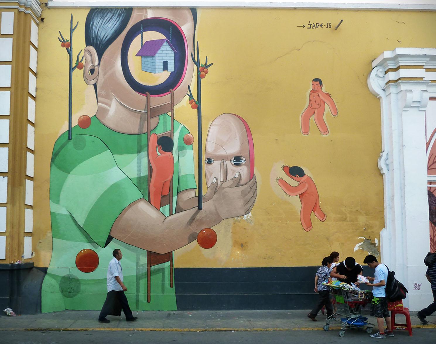 Jade New Mural In Lima, Peru   StreetArtNews   StreetArtNews