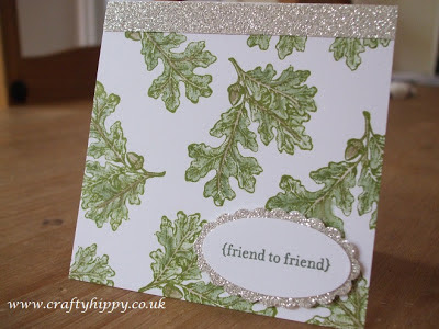 Lovely as a Tree, Silver Glimmer Paper, Stampin' Up!