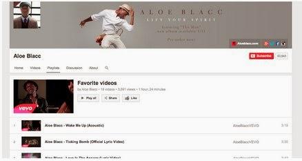 Νέα Youtube playlists  tab σε κανάλι