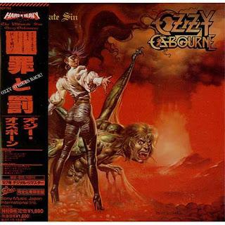 "Em 25/01/1986: Ozzy Osbourne lança o álbum ""The Ultimate Sin"""
