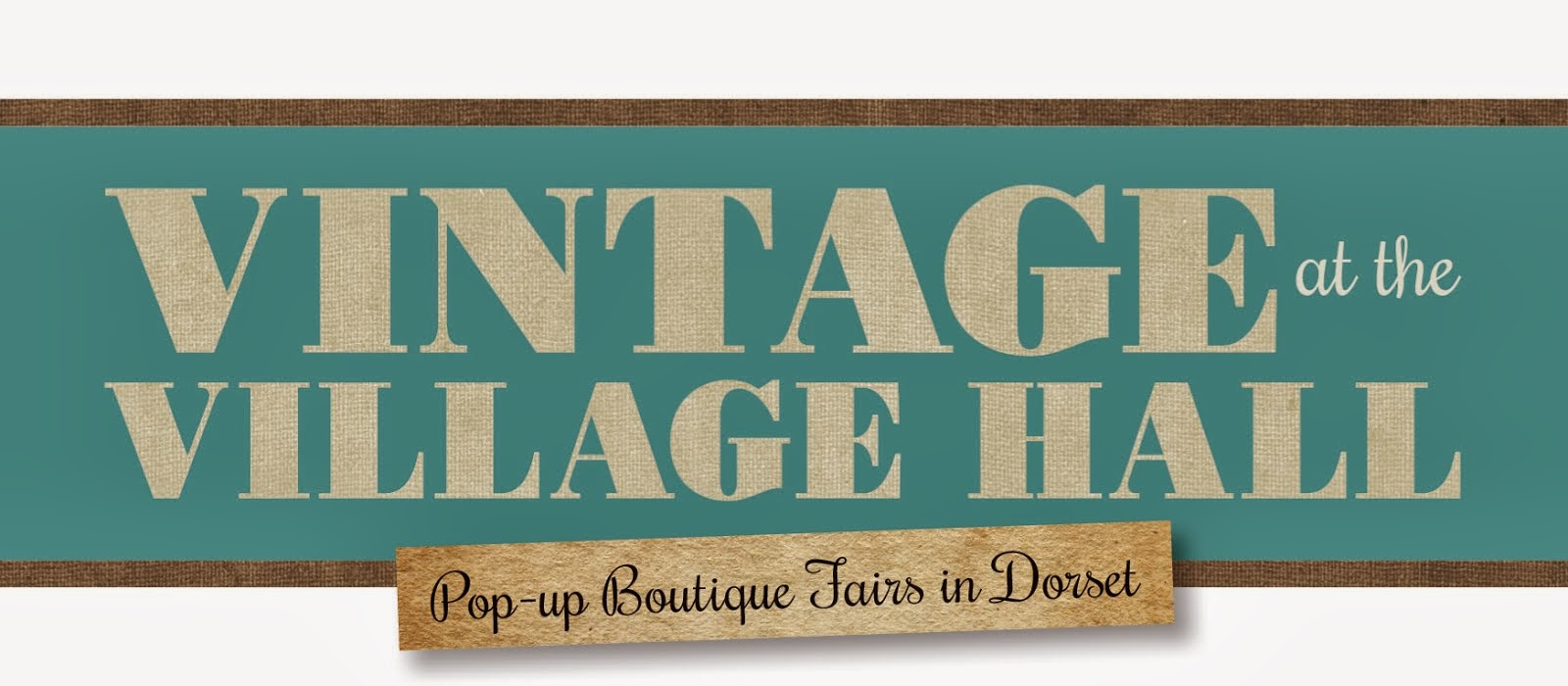 NEW DATE FOR 2014! vintage at the village hall