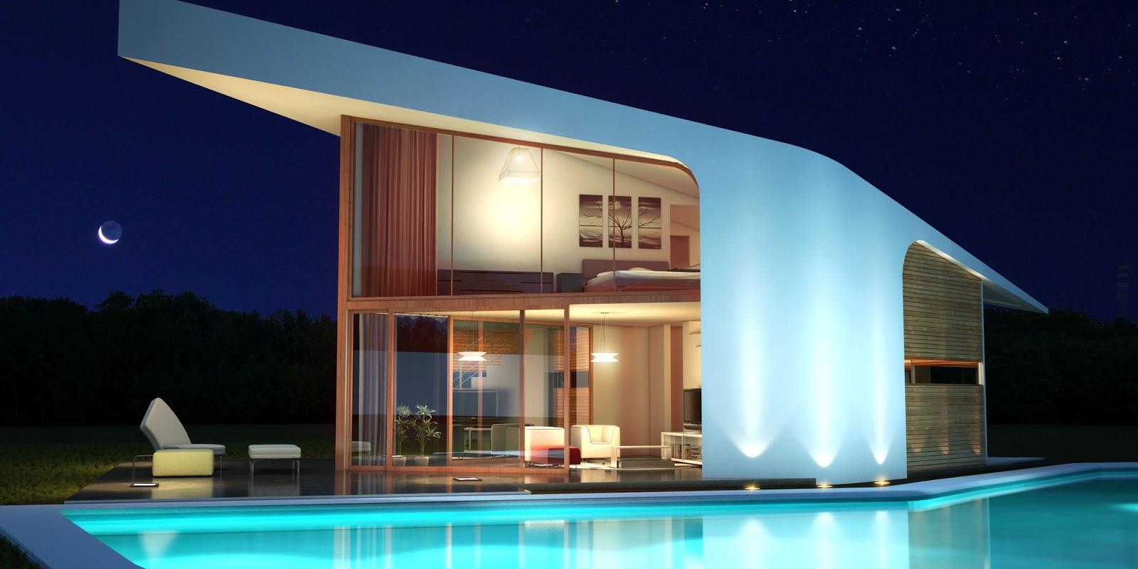 Adelante d dise o casas modernas casas ecoeficientes - Casas prefabricadas de hormigon modernas ...