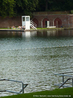 Bademöglichkeit in Hamburg im Park