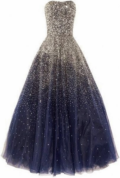 If You Search Beautiful Wedding Dress Come Here. Adorable, Lovely, Long, Dark Blue Dress.