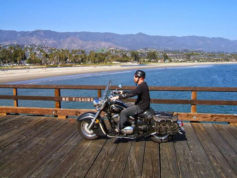 Moto en California
