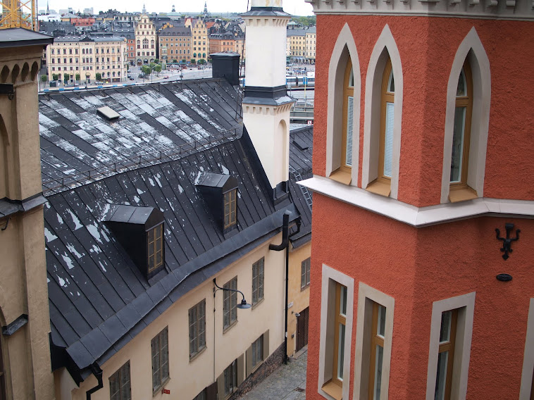 Rooftops, Stockholm, September 2012