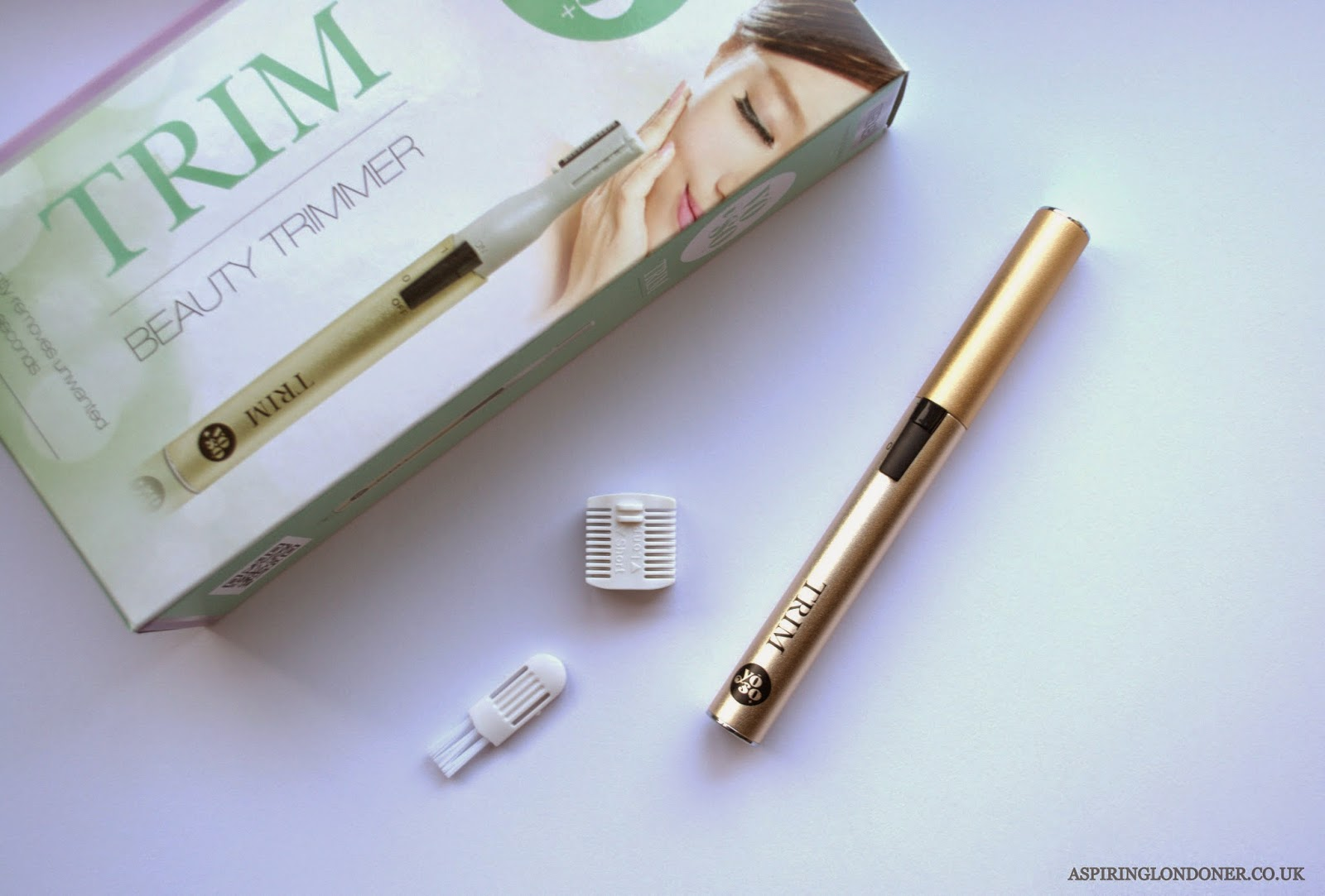 YOSO Trim Beauty Pen Hair Trimmer Review - Aspiring Londoner