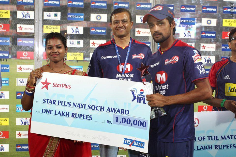 Nayi-Soch-Star-Plus-Award-DD-vs-SRH-IPL-2013