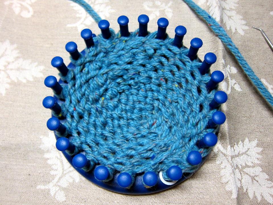 Caros Loom Knitting Album Toe Up Tutorial