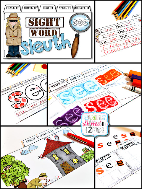 sight are Sleuth Sight  Word Its! bad words Tab