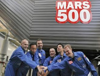Mars 500 aterriza en Marte Mars500
