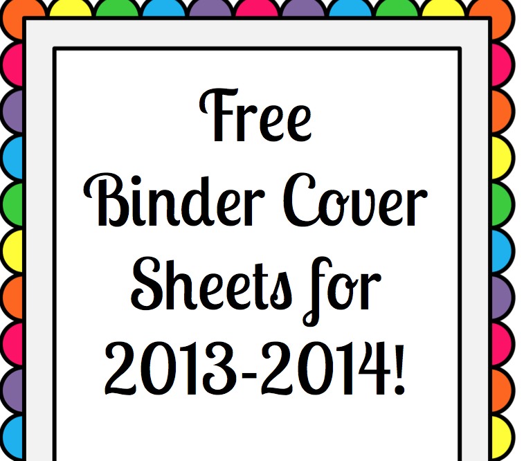 binder cover sheets