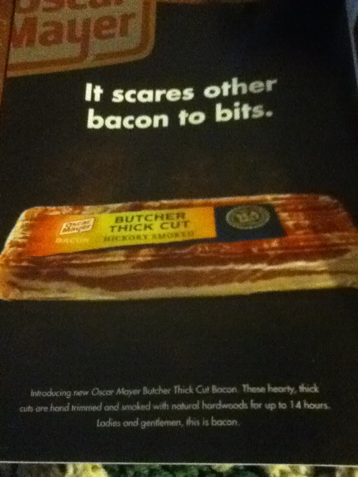 edian Josh Sankey Traveling Across The Country Using Bacon As Currency 7035663 likewise Fish Meat Pentawards Packaging Design in addition Watch together with Bacon likewise Oscar Mayer Bacon Coupon Save 1 00 Store Deals. on oscar mayer butcher thick cut bacon