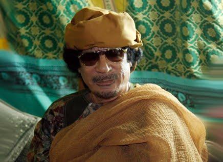 Muammar Al-Ghaddafi, lider político de Libya desde septiembre primero de 1969