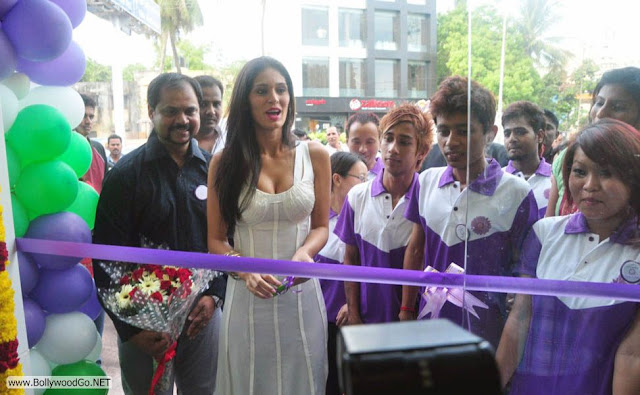 Bruna Abdullah ribbon cutting  - (7) -  Bruna Abdullah white dress Hot pics