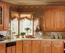 Golden Cabinets for Kitchen