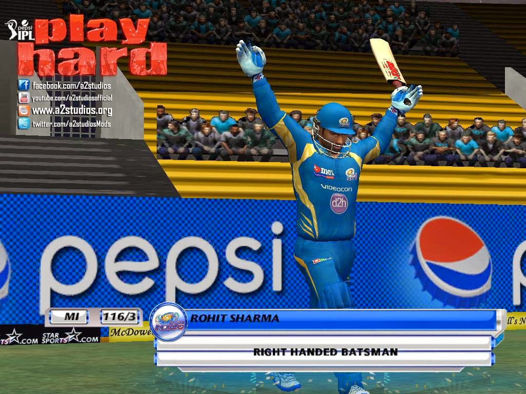 Pepsi IPL 6 Cricket Game Free Download