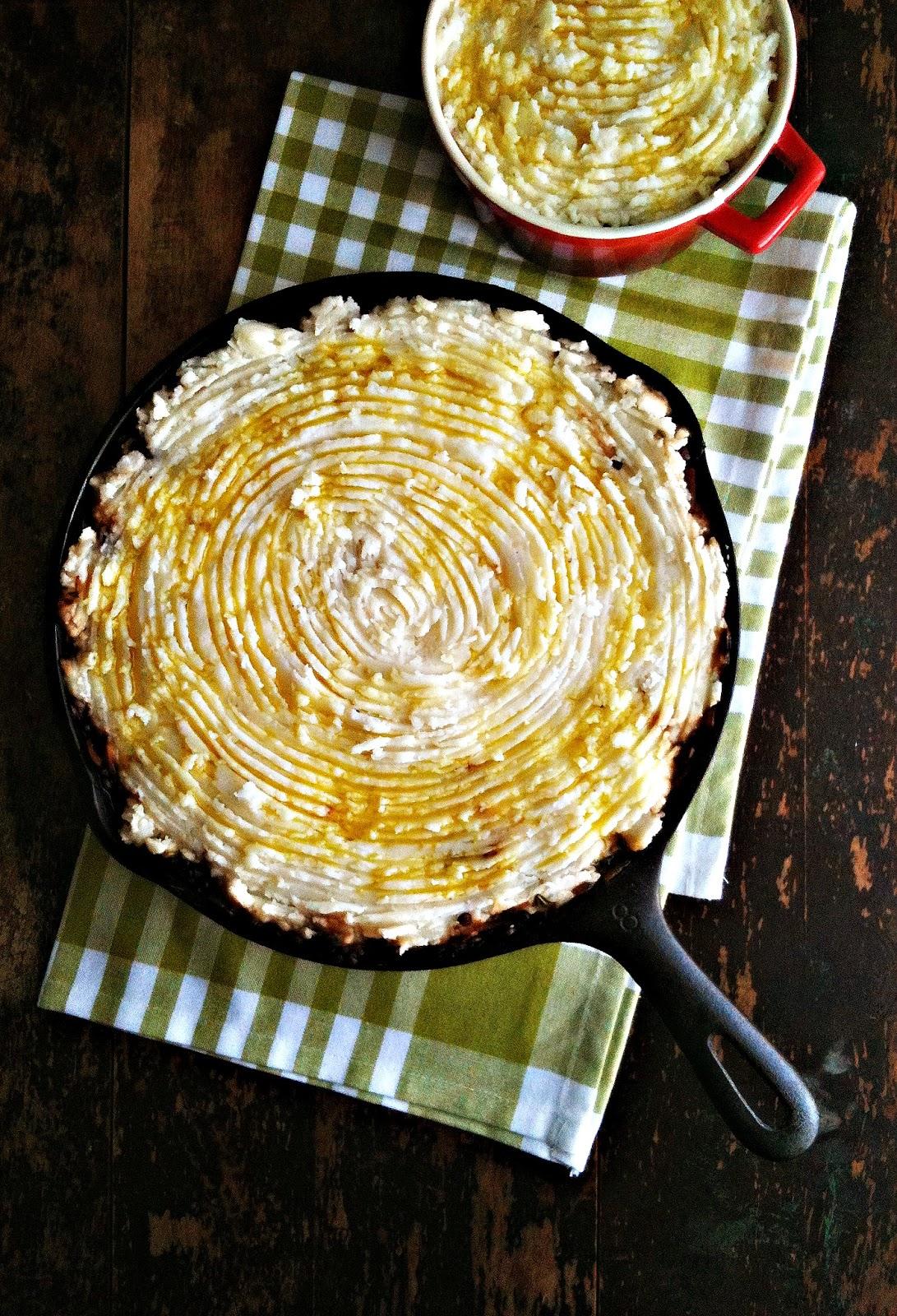 ... : Lentil & Kale Shepherd's Pie with Roasted Garlic Potatoes