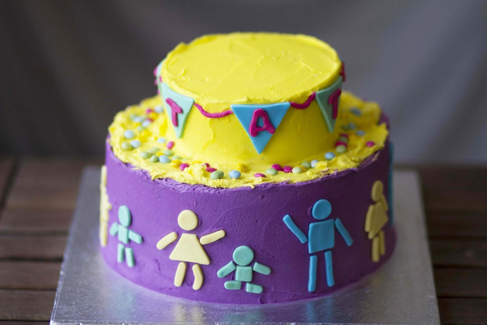 feliz cumpleanos cake