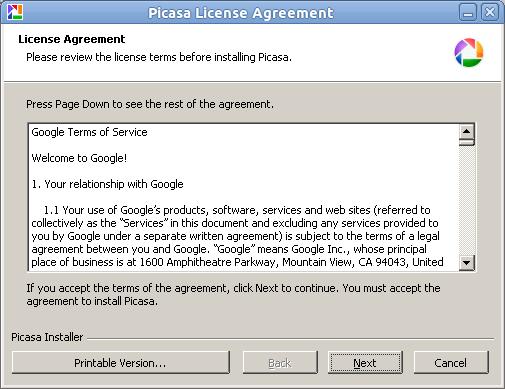Lisence Agreement