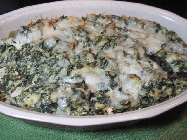 Creamed Spinach and Artichokes Recipe