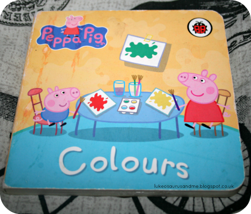 Books About Colour // Peppa Pig Colour Book // 3 Top Books We Have Been Using To Learn About Colour // www.lukeosaurusandme.blogspot.co.uk