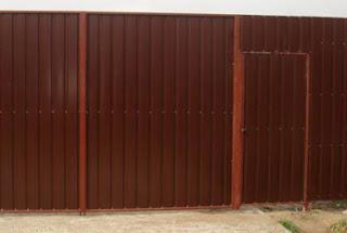 Забор из профлиста. Фото 7