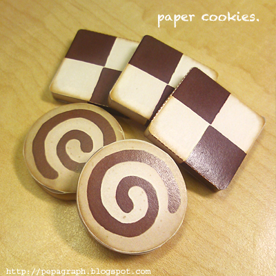 Icebox Cookies Papercraft
