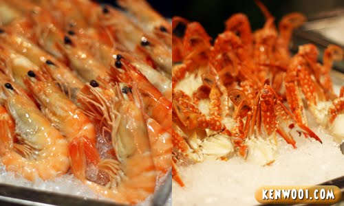 eyuzu prawn and crab