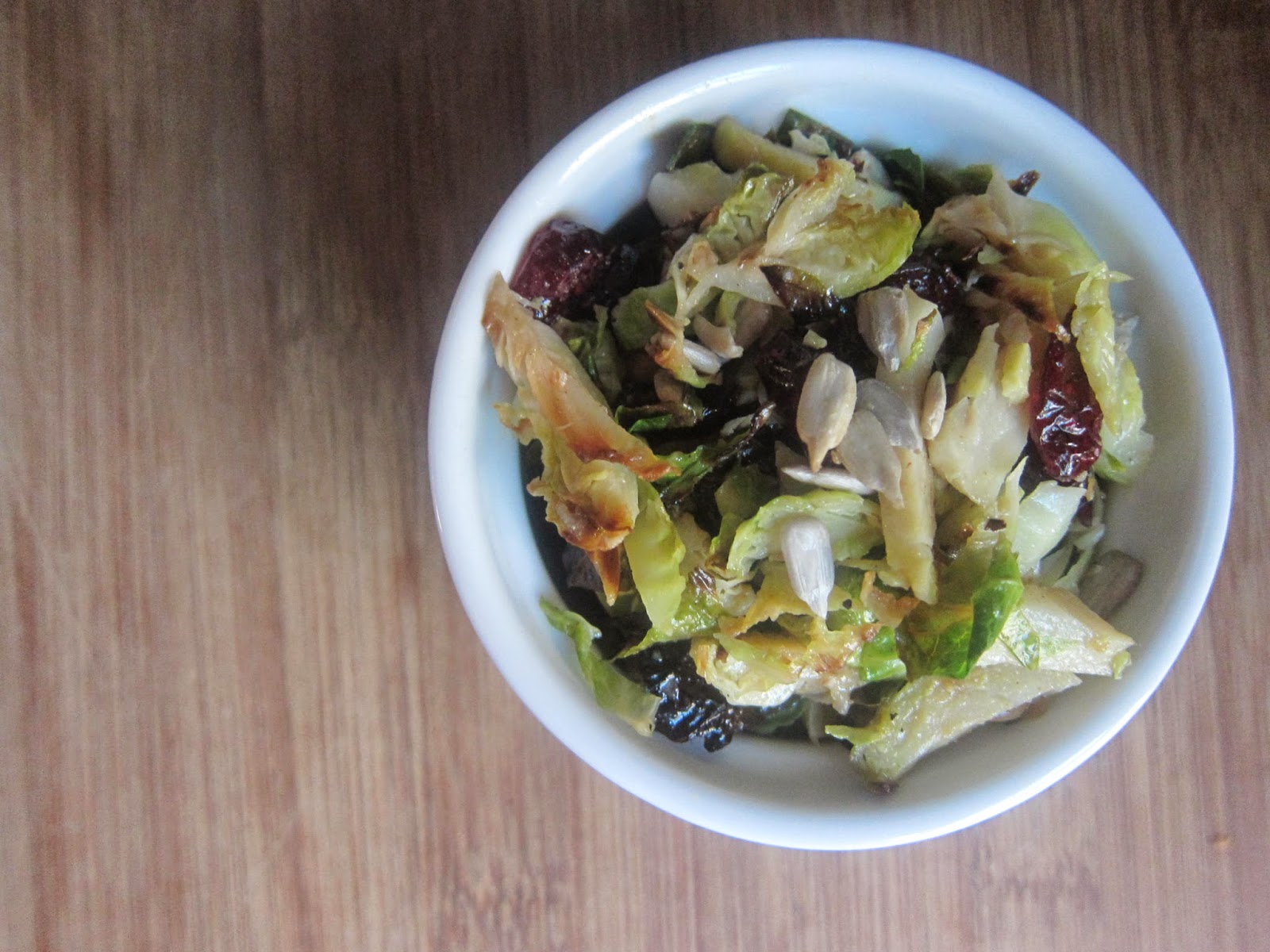 Grilled Maple Brussels Sprouts Slaw | The Economical Eater