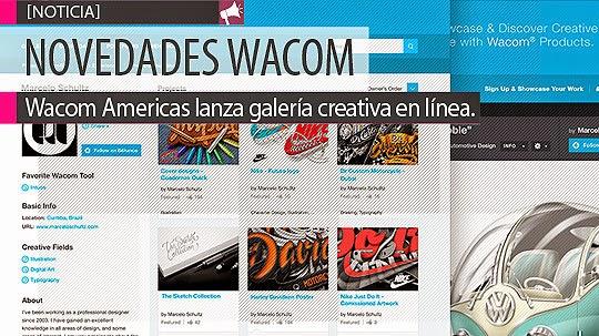 Wacom Américas lanza galería creativa en línea