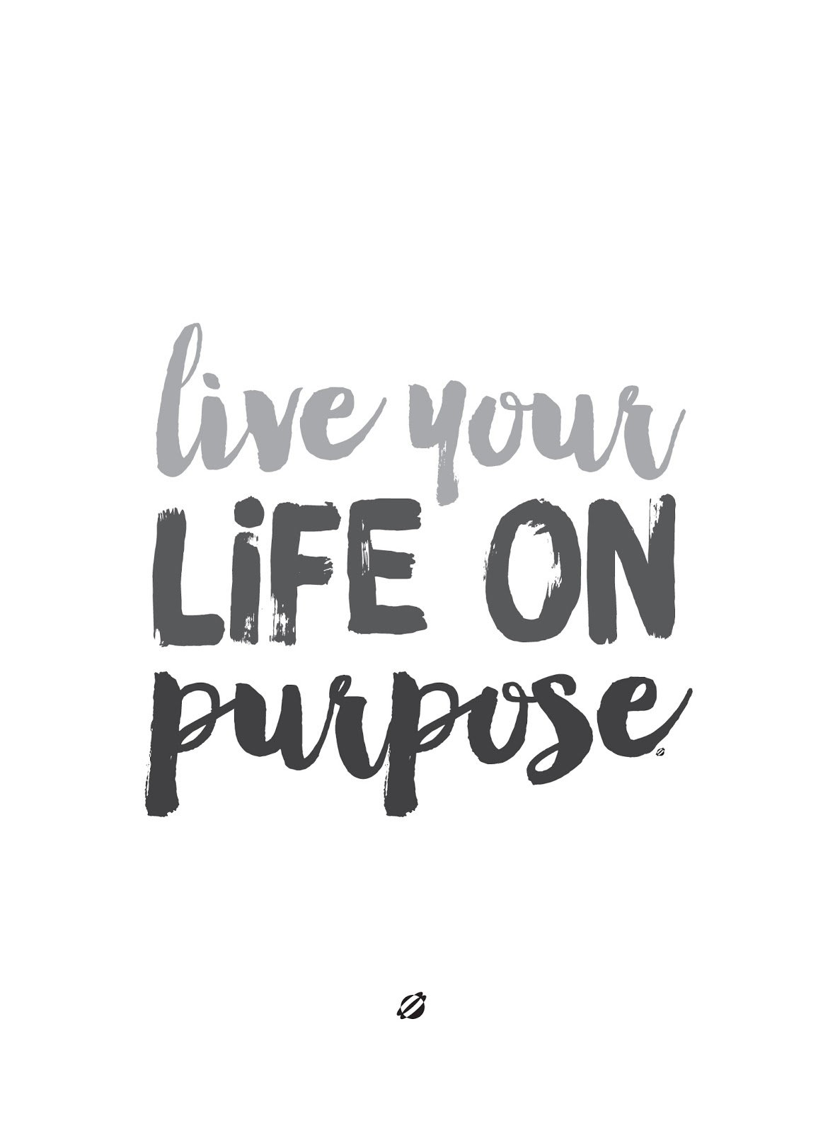 LostBumblebee ©2015 LIVE YOUR LIFE ON PURPOSE | FREE PRINTABLE | PERSONAL USE ONLY.