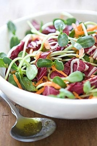 CARROT AND SUNFLOWER SPROUT SALAD RECIPE