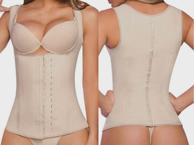 Ann Chery Women's Latex Full Vest