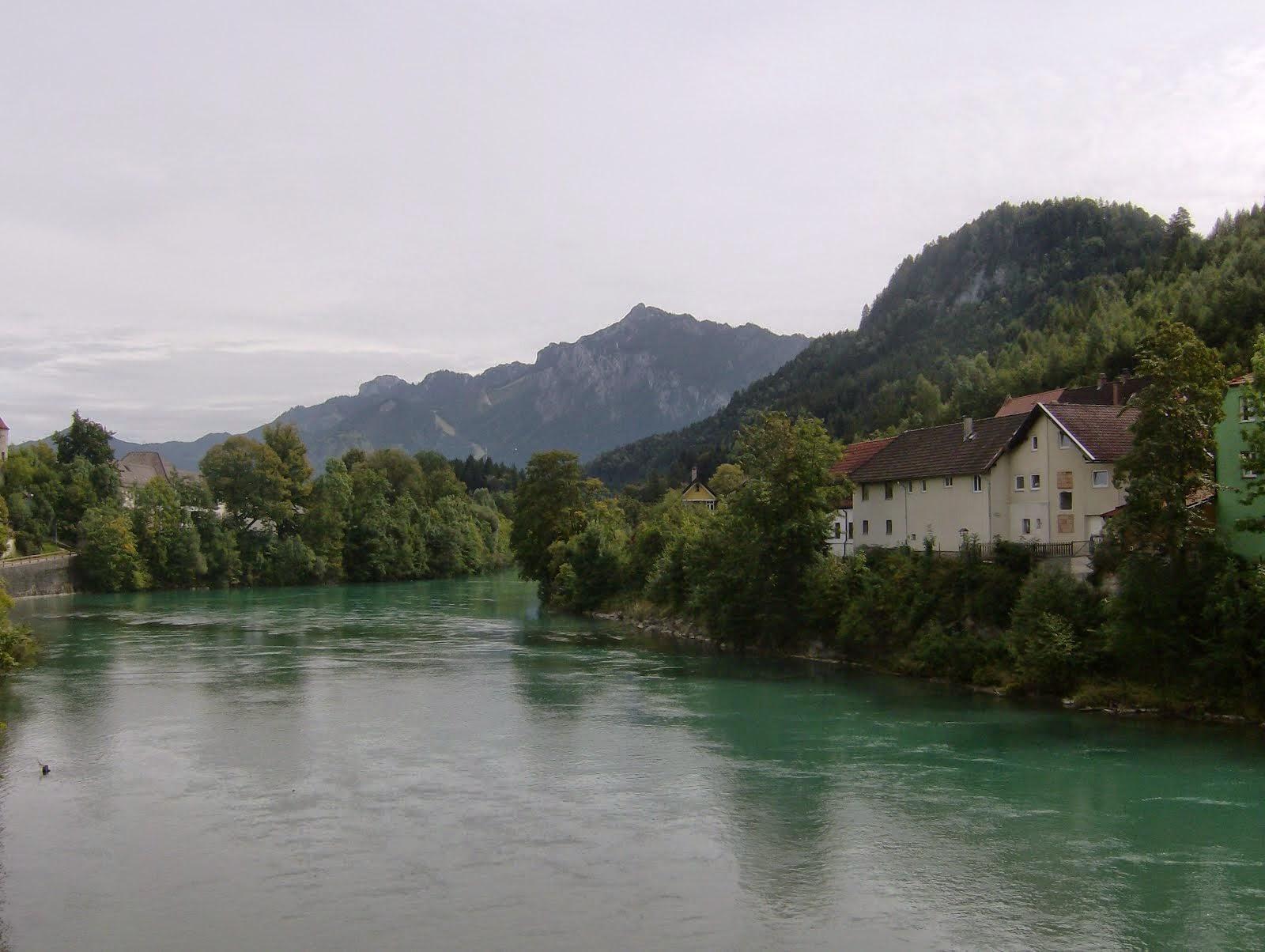 Orilla del Tirol, río Lech