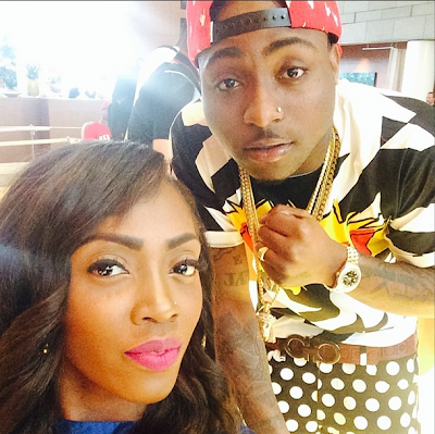 Davido and Tiwa 2