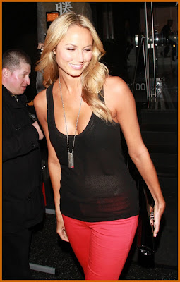 Stacy Keibler As A Sheer Beauty