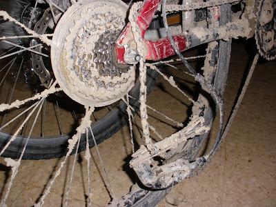 Patilla de cambio bicicleta