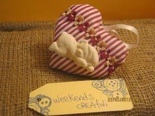 cucito creativo - cuore - stoffa - gesso profumato - idee nascita - душистые сердце белье - scented linen heart - duftende Wäsche Herz