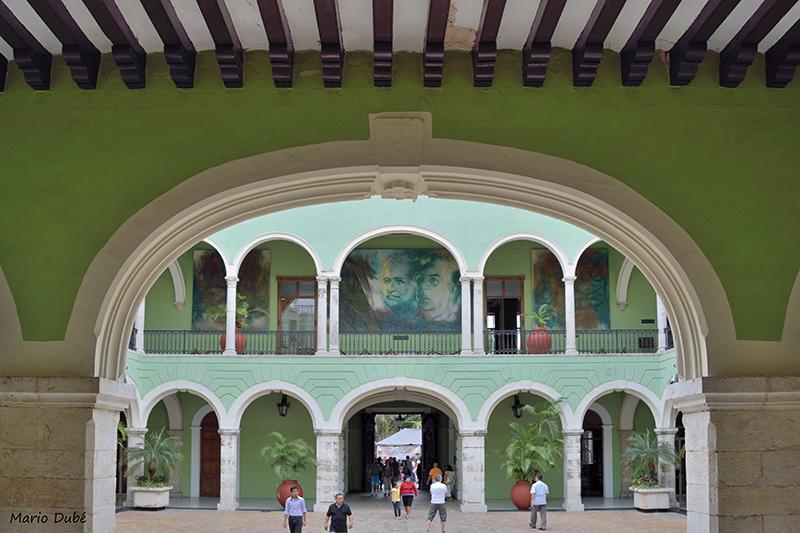 Le palais du gouverneur à Mérida
