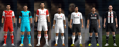 Preview PES 2012: Uniforme do Besiktas 2012/13