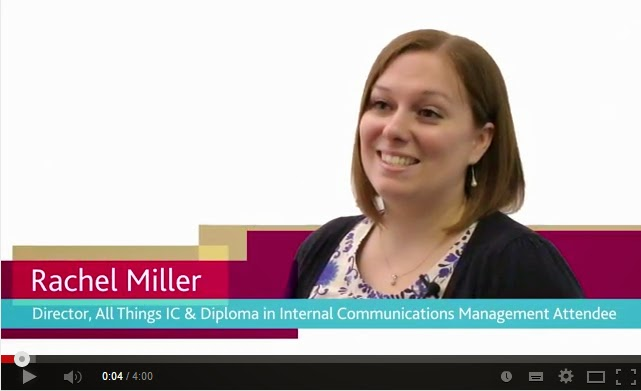 Internal Communication blog - Rachel Miller