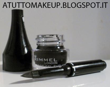 how to use rimmel london waterproof gel eyeliner