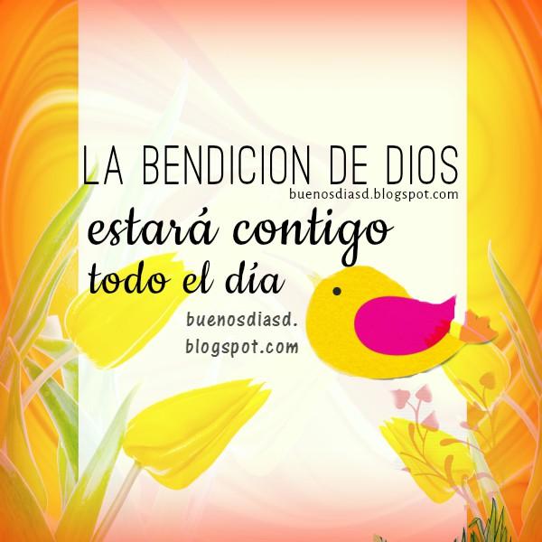 Frases cristianas de Buenos días por Mery Bracho. Imagen con mensaje cristiano de feliz día.