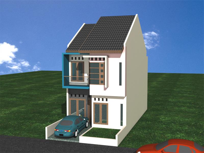 Desain Rumah Modern Minimalis 1 Lantai 2 Lantai