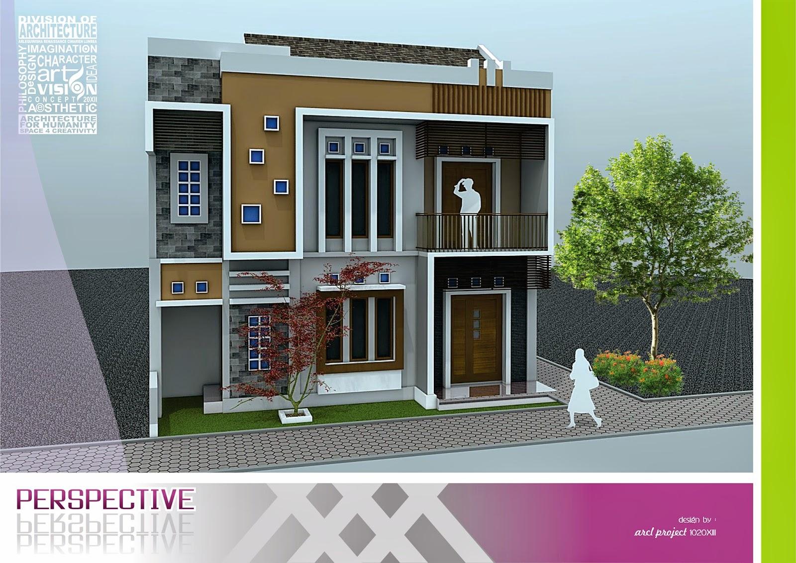 Desain Rumah Minimalis, aries pribadie , arlequin architects , desain rumah tinggal minimalis, universitas widya mataram yogyakarta